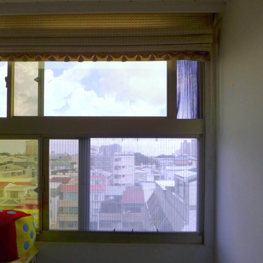 【摺疊紗窗】台南市永康區大橋二街 #201308071122