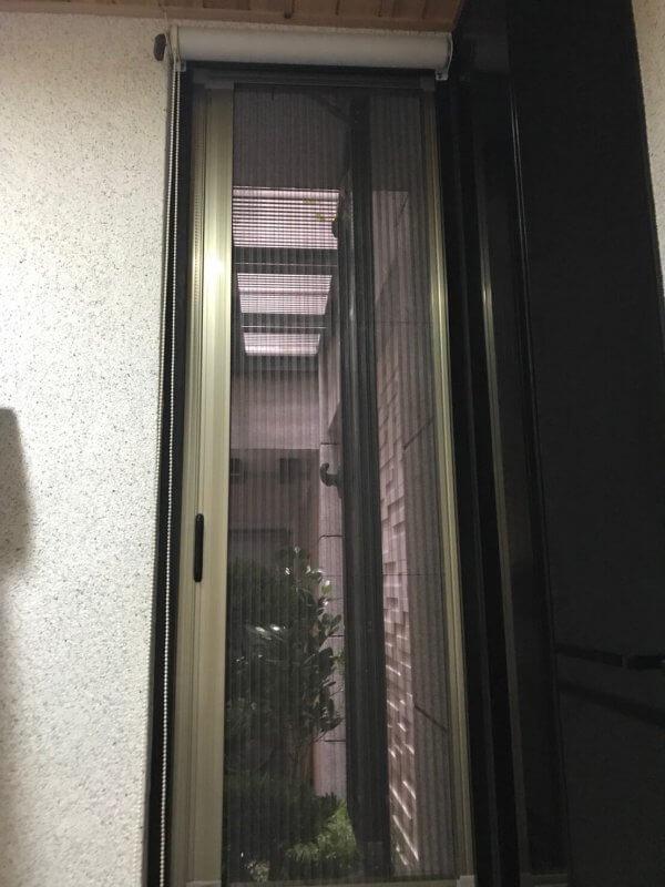 【摺疊紗窗】台南市東區文化三街 #201808291430